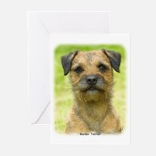 Border Terrier 8W44D-23 Greeting Cards (Pk of 10)