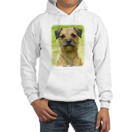 Border Terrier 8W44D-23 Hooded Sweatshirt
