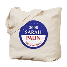 PALIN FOR VICE PRESIDENT Tote Bag