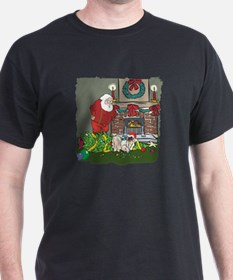 Santa's Helper Pekingese T-Shirt