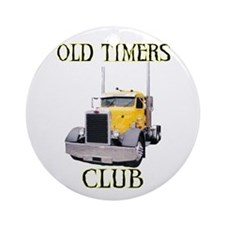 Old Timers Club Ornament (Round)