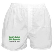 World's Coolest Palin Supporter Boxer Shorts