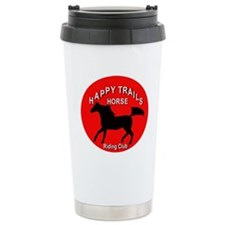 Happy Trails Horse Riding Club Travel Mug