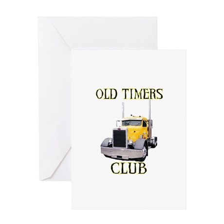 Old Timers Club Greeting Card