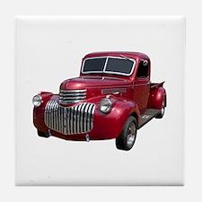 1946 Pickup Truck Tile Coaster