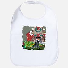 Santa's Helper Newfoundland Bib