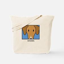 Anime Azawakh Tote Bag
