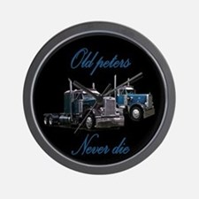 Old Peter Never Die Wall Clock