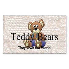 Teddy Bear Mania Decal