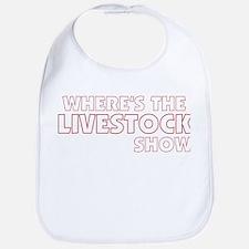 Where's The Livestock Show Bib