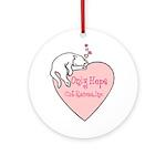 Only Hope Logo Keepsake (Round)