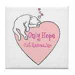 Only Hope Logo Tile Coaster