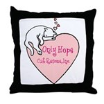 Only Hope Logo Throw Pillow
