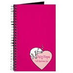 Only Hope Logo Journal - Pink