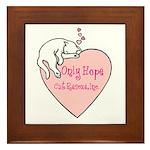 Only Hope Logo Framed Tile