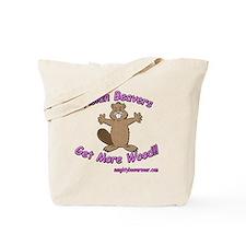 Asian Beavers Get More Wood!! Tote Bag