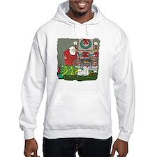 Santa's Helper Maltese Hoodie