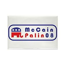 MCCAIN - PALIN 2008 Rectangle Magnet