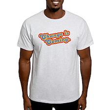 Change is Coming Retro T-Shirt