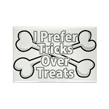 Tricks Over Treats Rectangle Magnet