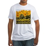 Extreme Gardener Fitted T-Shirt