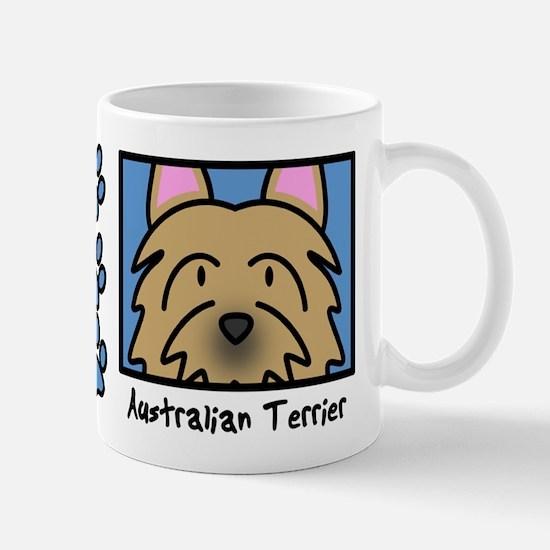Anime Australian Terrier Mug
