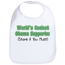 World's Coolest Obama Supporter Bib
