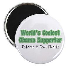 World's Coolest Obama Supporter Magnet