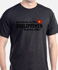 Somebody In the Philippines Loves Me T-Shirt