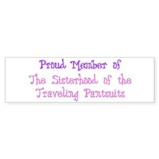 Sisterhood of the Traveling P Bumper Bumper Sticker