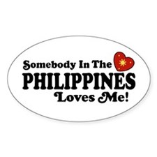 Somebody In the Philippines Loves Me Decal