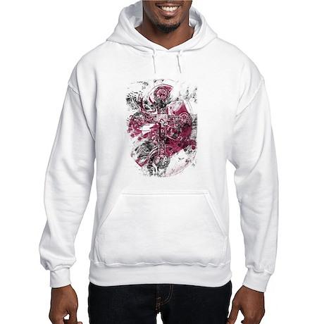 """Blood on the Cross"" Hooded Sweatshirt"