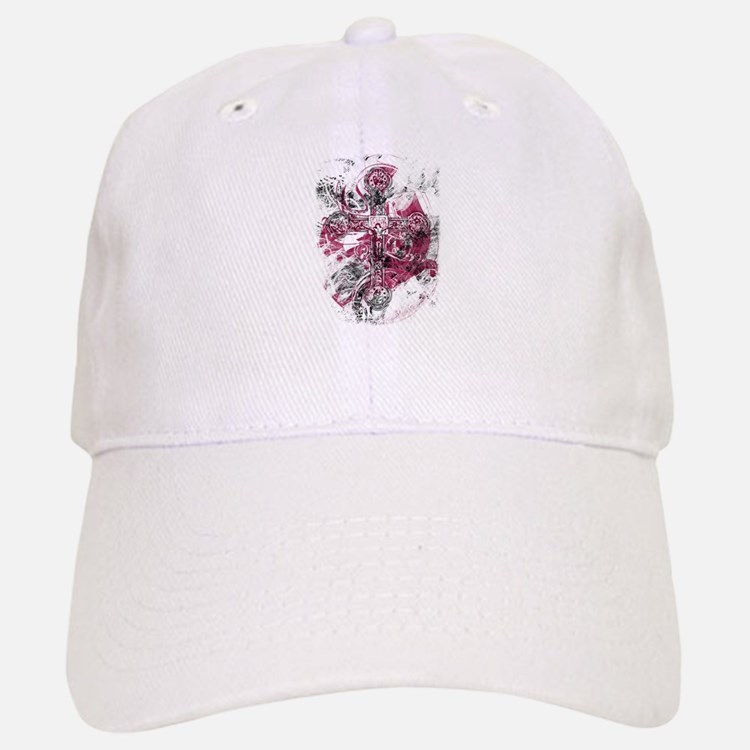 """Blood on the Cross"" Baseball Baseball Cap"