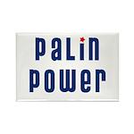 Palin Power blue font Rectangle Magnet (10 pack)