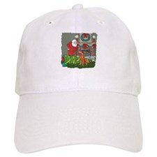 Santa's Helper Irish Setter Baseball Cap