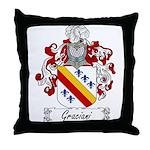 Graciani Family Crest Throw Pillow