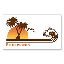 Philippines Rectangle Decal