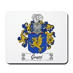 Grassi Family Crest Mousepad