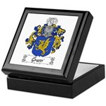 Grassi Family Crest Keepsake Box