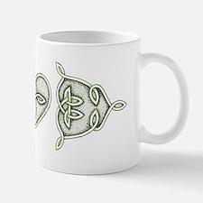 Green Celtic Love Knots Mug