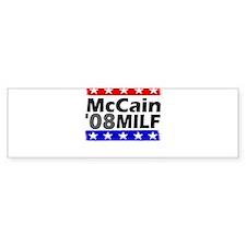 McCain-MILF '08 Bumper Bumper Sticker