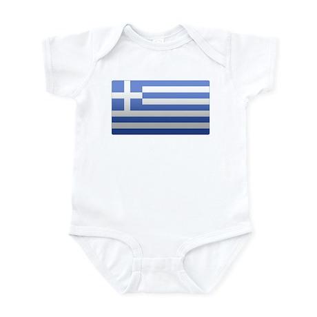 Greek Flag Infant Bodysuit