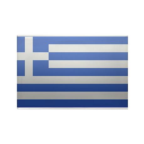 Greek Flag Rectangle Magnet (10 pack)