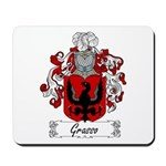 Grasso Family Crest Mousepad