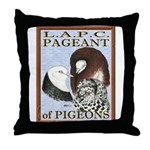 Pigeon Pageant1 Throw Pillow