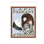 Pigeon Pageant1 Postcards (Package of 8)