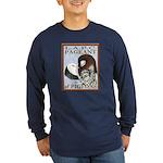 Pigeon Pageant1 Long Sleeve Dark T-Shirt