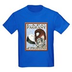 Pigeon Pageant1 Kids Dark T-Shirt