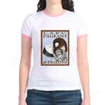 Pigeon Pageant1 Jr. Ringer T-Shirt