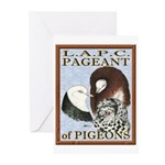 Pigeon Pageant1 Greeting Cards (Pk of 10)
